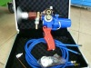 Metal spray gun for metal wire, arc spray system