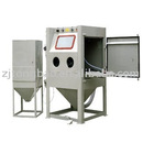 Cart-type turntable sandblast machine-TB-1212FTA