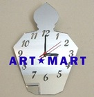 Mirrored Perfume Bottle Clock AM084