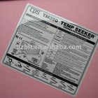 Screen Printed,3M 468MP Self Adhesive,Die-cut Polycarbonate(Lexan) Labels and Stickers