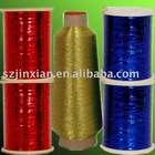 Color Metallic Yarn, Metalized Yarn,Decorative Yarn