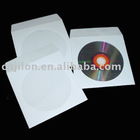 80g envelopes with flap and window JLP001 paper CD sleeves