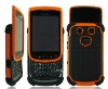 Hot selling mobile phone case 3 in 1 case for blackberry 9800 case mix colors