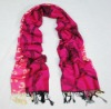 2013 new jacquard roseo polyester scarf for women/Fashion accessories