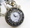 Free ship!!! 30pcs/lot big Brass Necklace Classic Pocket Watch necklace No.42