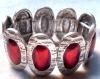 alloy fashion diamond bracelet