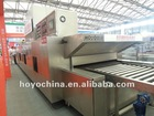 Hot air circulation tunnel oven