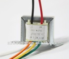 customized electronic transformer for audio amplifier