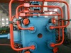 Copper extruder machine
