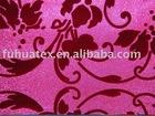 flocking wallpaper fabric