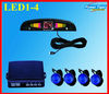 LED Display Indicator Parking Car Reverse Radar Kit 4 Car parking sensor system