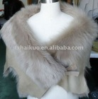 NW-0282ladies shearling cape new style2011