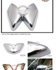 Chrome Side Mirror Cover Protecter Trim for LAND ROVER FREELANDER 2 Range Rover