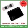 Android Google Internet TV Box Full HD 1080P Media Player HDMI Skype Video Call