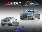 PU body kits for 06-08 Audi A4
