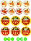 sticker for fruit