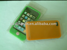 2011 New stand silicone case for iphone4