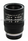 3.5-8mm varifocal manual iris lens