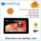10.2 Inch Highest 1080P support GPS HDMI WIFI Tablet PC 3G SIM Card Slot