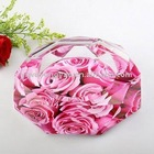 designer roses crystal ashtray