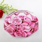 designer roses crystal ashtray