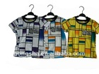 boys cotton t shirt top quality in 3 colors E68012 in stock