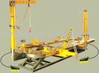 H700M Body Bench/frame minchine/body bench