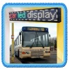wireless bus led display with GPS GPRS