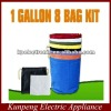 EXTRACTOR herbal 1 GALLON 8 BAG KIT