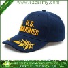 U.S. Marines 100% Cotton Breathable 3D Embroidery Baseball Cap
