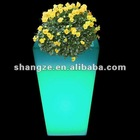 plastic flower planter pot/large plastic flower pots