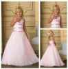 A-Line Spaghetti Straps Custom Made Flower Girl Dresses On Sale
