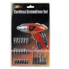 26pc 4.8V Cordless Screwdriver Set