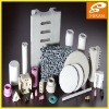 electrical insulation ceramic plate/tube/rod/ring/parts ceramic products