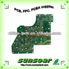 Electronic circuit board for PCB fabrication