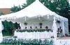 White tent, designer wedding tent, celebration tent, PVC cover, Aluminium alloy