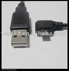 Shenzhen Micro USB CABLE left angle right angle