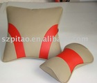 HIGHT QUALITY pu leather back cushion use in car