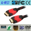 High end Double color HDMI with 19pins support 3D 4k*2k 2160P gold-plated