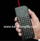 3 in 1 2.4G wireless laser keyboard with touchpad mouse