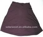 women's wool knitted skirt