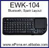 Popular Bluetooth Mini Wireless Keyboard Touchpad