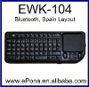 Popular Bluetooth Mini Wireless Keyboard Touchpad