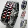 2011 hot sale lava Blue/red LED Digital lava Watch for men's/women's sports