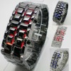 2011 hot sale lava Blue/red LED Digital lava Watch for men's/women's sports