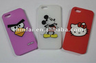 CE LFGB SGS Silicone cover For iPhone 5