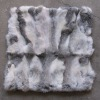 Rabbit Fur Cushion Cover