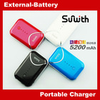 Factory Price! Superior Quality High Capacity 2012 New 5200mAh 10865 battery power bank