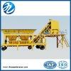 china mobile concrete batching machine HZS50
