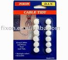 Loop cable fastener